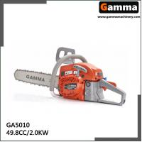 Buy cheap chainsaw 5010, gasonline chain saw, Oregan guide bar, 49.8cc displacement from wholesalers