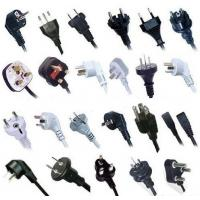 Quality World wide AC power supply cords with all kinds of certificates for sale