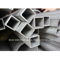 Buy cheap Industrial Stainless Steel Rectangular Tubing / Stainless Steel 316 Tube Mirror from wholesalers
