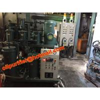 Quality Fixed and mobile type hydraulic oil treatment plant, gear oil purifier, oil flushing system for hydroturbine 600l/h for sale