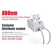 Buy Vertical 808nm Diode Laser Hair Removal Machine With Germany Laser 3 - 40 J/Cm2 at wholesale prices
