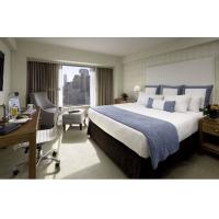 Quality Deluxe Hotel Room Furnishings ,  King Size Hotel Guest Room Furniture In PU Finish for sale