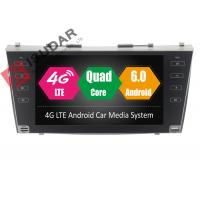 Quality Dual Zone Function Toyota Camry Car Stereo , Android Navigation Head Unit With A2DP for sale