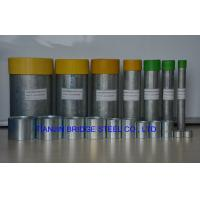 Quality Zinc Coated Galvanized Steel Pipe / Middle Pressure Liquid Delivery Tube for sale