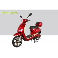 Quality 25-32km/h Canada moped power assisted electric scooter/bicycle with 500W 48V battery for sale
