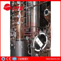 Buy 66 Gal Industrial Copper Distillery Equipment Vodka Copper Alcohol Distiller at wholesale prices