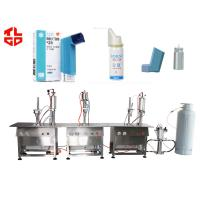 Quality Asthmatic Bronchitis Spray Aerosol Filling Machine for sale