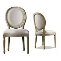 Quality Antique Commercial Restaurant Furniture Indoor Fabric Dining Room Chairs for sale
