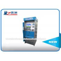 China Outdoor Touch Screen Plastic Card Dispenser Kiosk Cash / Coin Payment Waterproof on sale