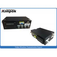 Quality Long Range HD Wireless Transmitter 300-800mhz Video + Data Simultaneously for sale