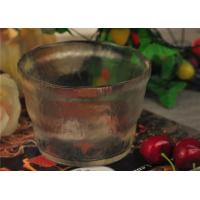 Quality Bubble Effect Color glass salad bowl big fruit for household tableware for sale