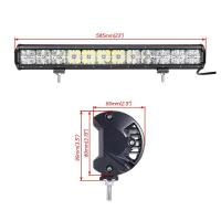 Quality Made in China auto roof white Cross DRL lighting 21.5'' cree 120w 7D rally led driving light bar for sale