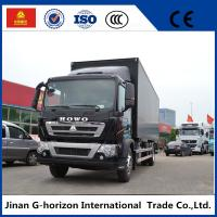 Quality 336HP Van Cargo Truck SINOTRUK HOWO 4X2 Euro 2 Lorry Vehicle Heavy Cargo Truck for sale