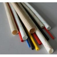 Buy cheap PVC Acrylic Silicone Braided Fiberglass Sleeving For Cable Flame Retardant And from wholesalers