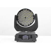 Quality DMX512 Pro DJ Stage Effect Light , RGBW 108*3W Led Wash Moving Head IP33 for sale