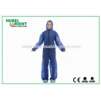 Quality Soft Durable Safety Disposable Coveralls Clothing For Industrial for sale