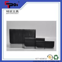 Quality Office Stationery Supplier PP Plastic Document Case Elastic Closure Expanding File Folders for sale
