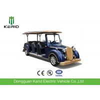 Quality Luxury Design CE Approved 5KW Vintage Golf Carts 8 Passenger Classic Electric Car for sale
