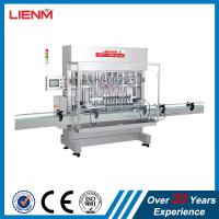 China Plastic shampoo bottle capping filling machine production packing line on sale