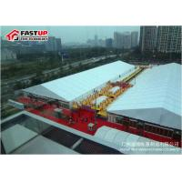 Quality Modern Giant Outdoor Market Tent , Strong Strength Art Show Tents Flameproof for sale
