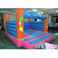 China Custom 4 x 4 m Hand Printing Inflatable Bounce House Kids Jumping Castle on sale