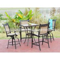 China BMLQ13176 sling alumicast bar height chair hot sale design chair on sale