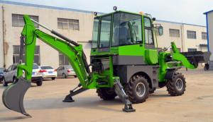 Quality WZ22-16 Heavy Earth Moving Equipment , 5t Front End Loader Backhoe for sale