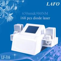 Quality 650&980nm Dual Wavelength Diode Lipolaser Machine for sale