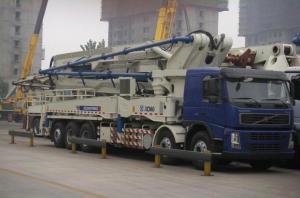 Quality 1800r/Min 52m Concrete Pump Truck Road Construction Machinery for sale