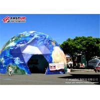 Quality Outdoor Diameter 15M Geodesic Dome Tent For Brand Ceremony Tent for sale