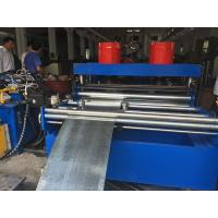 PLC Control Cable Tray Roller Making Machine With Single Chain Driving System