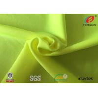 Quality Shiny Stretch Fabric 80 / 20 Nylon Spandex Underwear Fabric Soft Touch for sale