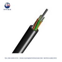 Quality Outdoor GYFTY G652D 12 Core Single Mode Fiber Optic Cable for sale
