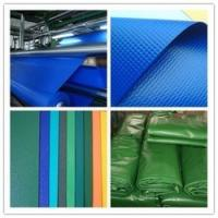 Quality PVC Glossy/Matte Colorful Knife Coated Tarpaulin/Tent fabric used for truck cover for sale