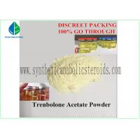 Quality Yellow Tren Acetate Powder Fitness Steroids Hormones Pharma Raw Materials for sale