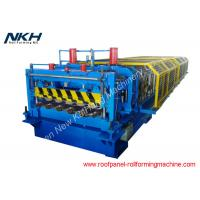 China European Type Roof Tile Roll Forming Machine For Hydraulic Tile Pressing on sale