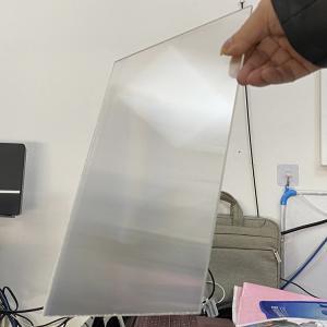Quality Plastic Lenticular 20 LPI flip lenticular effect thickness 3 mm designed for flip effect on digital printer for sale