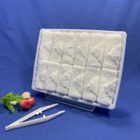 Quality Soft Bleached Microfiber Hand Towel for sale