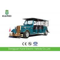 Quality 11 Seater Electric Vintage Cars , 7.5KW Sightseeing Electric Tourist Bus With AC System for sale