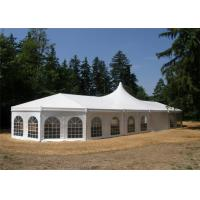Quality Fireproof Cover Marquee Tents Hop - Dip Galvanized Connectors 0.5kn/sqm for sale