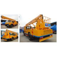 China factory sale dongfeng 145 4*2 RHD 170hp diesel 20m aerial working platform truck, HOT SALE! 20m hydraulic bucket truck on sale