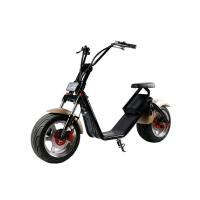 Quality 1200W 18*9.5 inch 2 Wheel Electric Scooter , Harley two wheeled scooters adults for sale