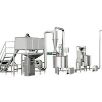 Quality φ1150*2070mm Cereal Production Line , Corn Flakes Making Machine for sale