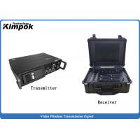 Quality 25W High Power Maritime Transmitter and Receiver Long Distance 35km Low Delay for sale
