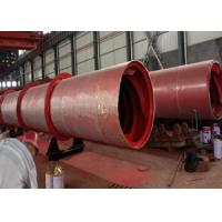 Quality Industrial Saw Dust Rotary Drum Dryer For Crushed Branch / Wood Chips for sale