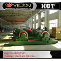 Quality Fit Up And Assembly Pipe Welding Rotator , Manual Adjustable Welding Turning Roller HGK40 for sale