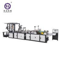 Quality Full automatic zip lock bag making machine double lines sealing knife and bottom sealing knife for sale