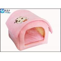 Buy Custom Multi Color Lovely Pet House Dog Houses Or Cat Houses Blue Orange Red at wholesale prices