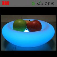Quality 2017 New Plastic Colors Change Led Light RGB Colors Change Fruit Plate for sale