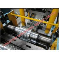 Quality Adjustable Iron Shutter Door Roll Forming Machine With Holes Punching Dies for sale